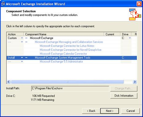 Microsoft Exchange System Management Tools