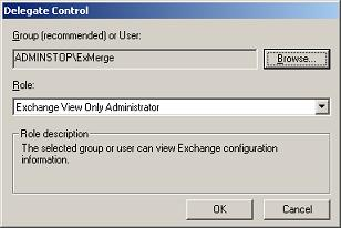 Exchange View Only Administrator