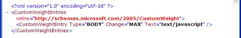 Exchange 2003 XML